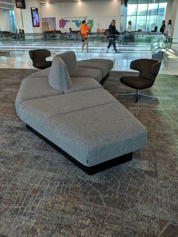 Government Furniture Supplier KC Airport Couching