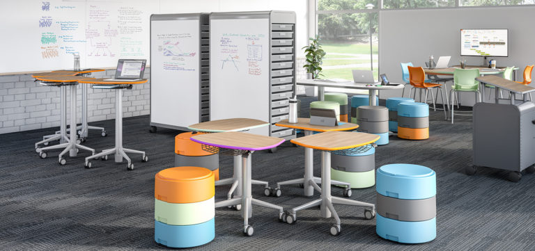 smith system modern learning active seating sit to stand