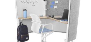 herman miller cubicle desk university student