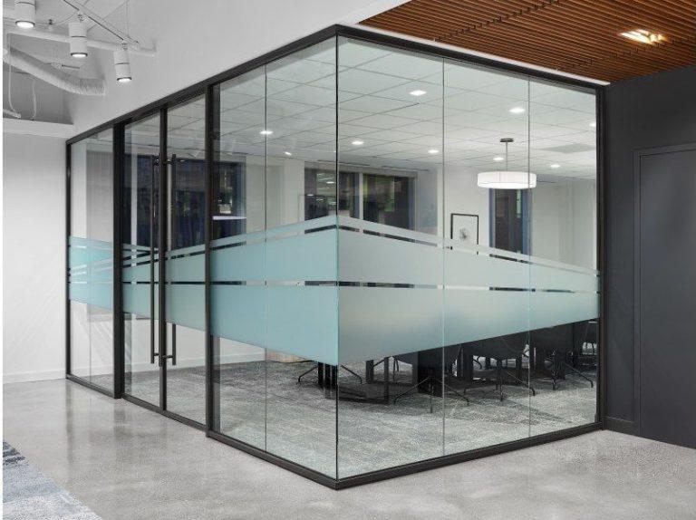 Glass Wall Interior Design Kansas City