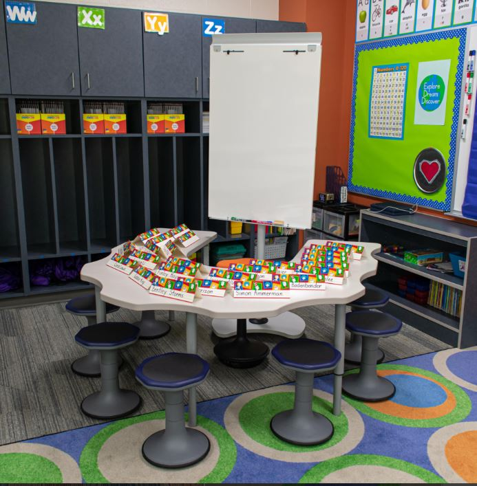 mien active seating elementary classroom
