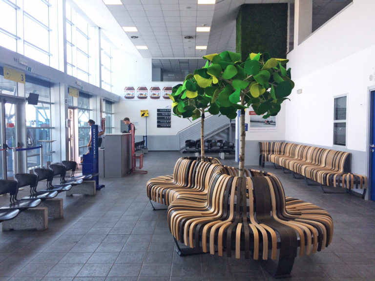 Government furniture supplier Kansas City airport seating spaces
