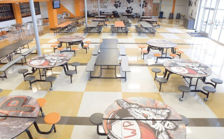 Cafeteria seating spaces, Education KC