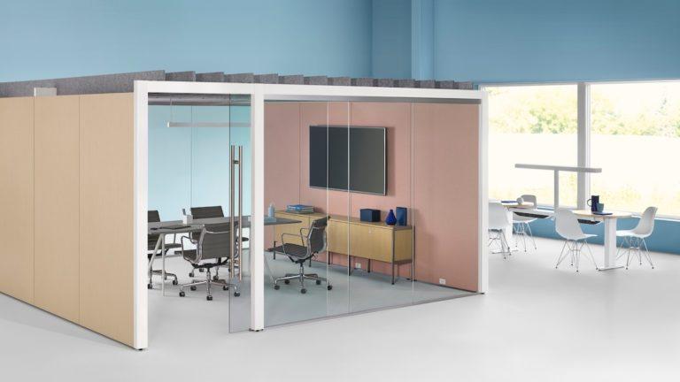 Herman Miller furniture office overlay