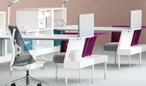herman miller desks and chairs featuring sayl chair