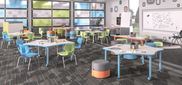 modern learning classroom