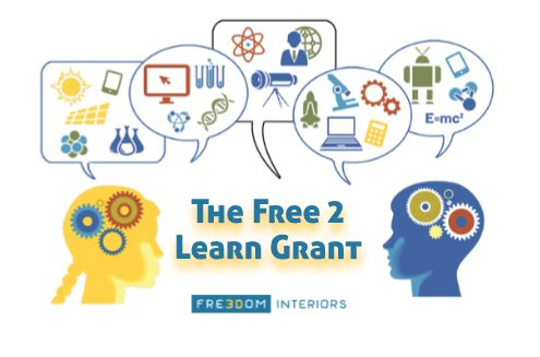 education furniture logo for free 2 learn grant classroom giveaway